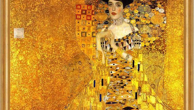 'La dama de oro' de Gustav Klimt