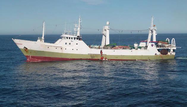 Argentina captura un pesquero español por pescar