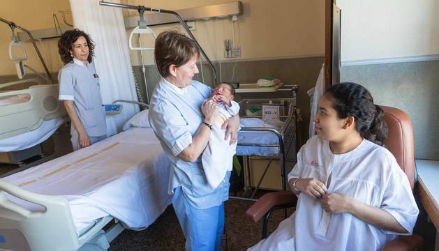 El Hospital de Tudela logra su mejor dato de nacimientos desde 2012