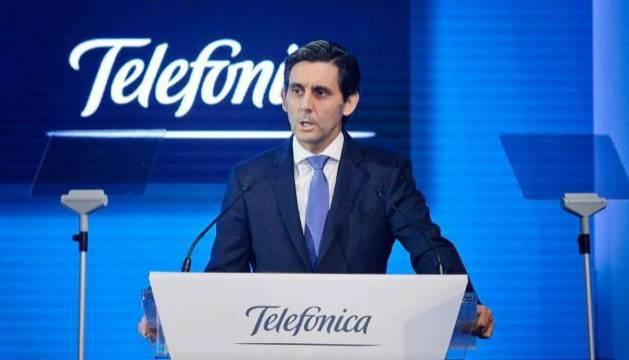 El presidente ejecutivo de Telefónica José María Álvarez-Pallete
