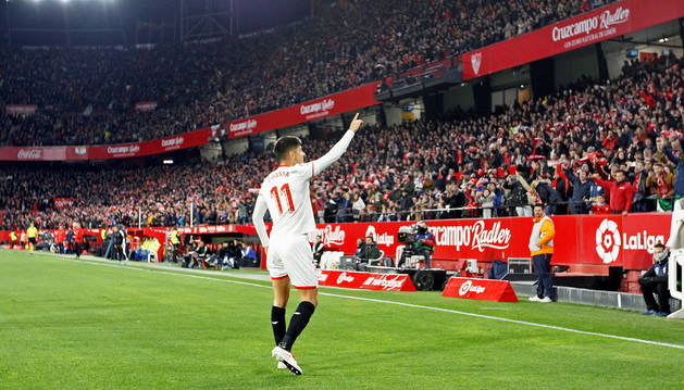 El Sevilla despierta al Lerganés del sueño copero
