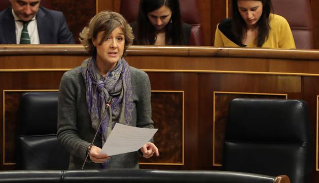 La ministra Tejerina, en el Congreso de los Diputados.