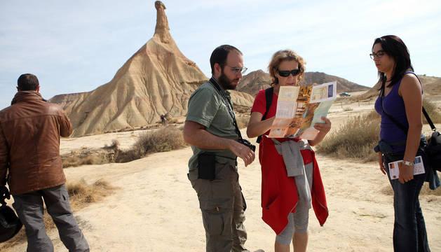 Nuevo récord del turismo en Bardenas en 2017 con casi 70.000 visitantes