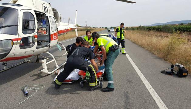 Hasta no adaptarse a la normativa europea en Navarra ya no se podrá evacuar a heridos graves en accidentes.