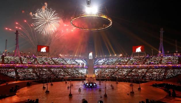 Imágenes de la Ceremonia de Apertura de los Juegos Olímpicos de Invierno de Pyeongchang