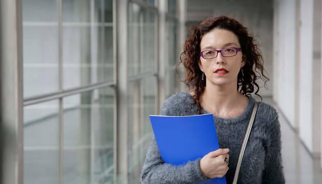 La representante del Centro de Ética Aplicada de la Universidad de Deusto, Izaskun Sáez de la Fuente.