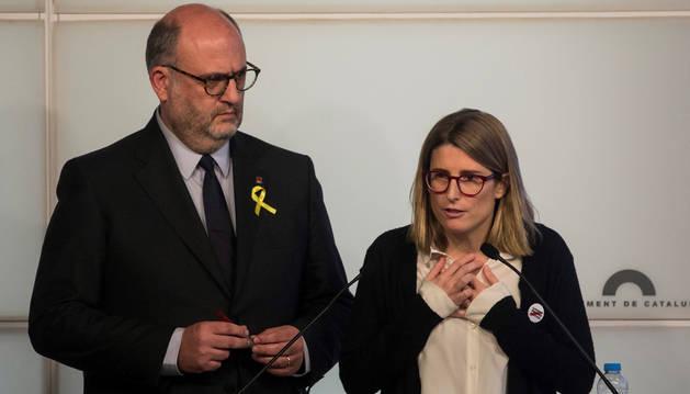 JxCAT plantea ya sustitutos a Puigdemont ante la imposibilidad de su investidura