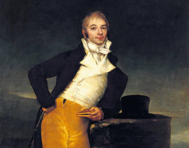 Imagen del 'Retrato del Marqués de San Adrián', de Goya.