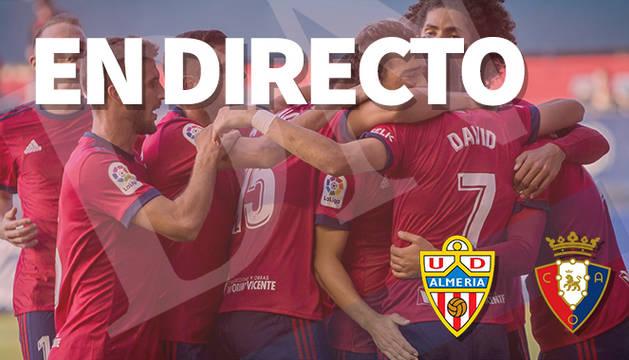 Almería-Osasuna, en directo