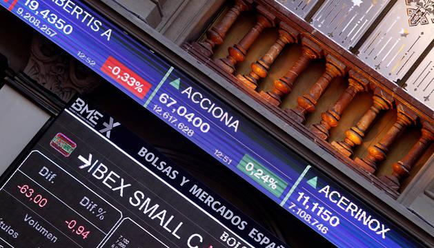 La Bolsa española empieza la semana con ganancias.
