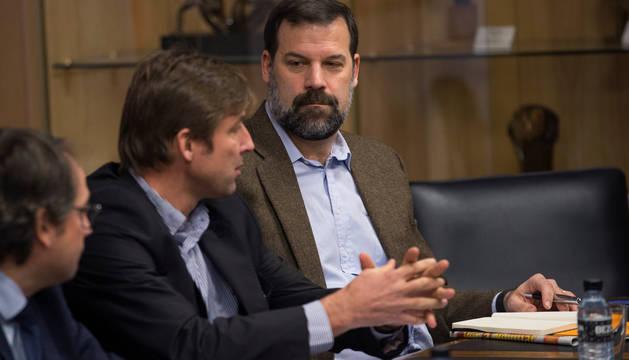 Alfonso Reyes, presidente de la ABP, junto al vicepresidente Rafa Jofresa.