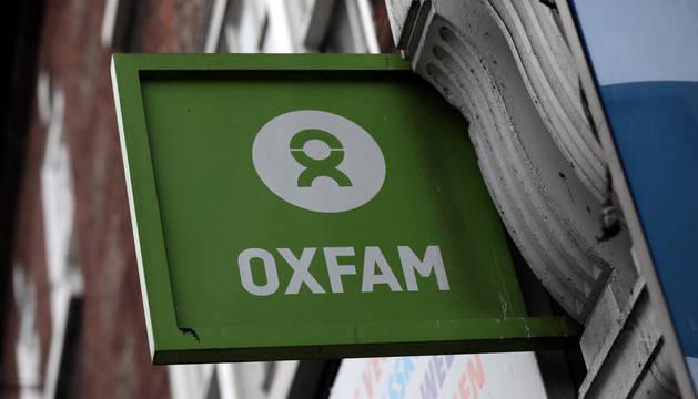 Una tienda de Oxfam