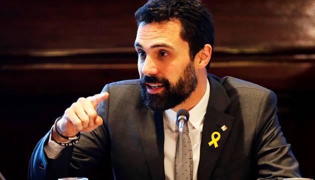 Torrent se enfrenta a JxCat al llevar el veto a Puigdemont a la Corte europea