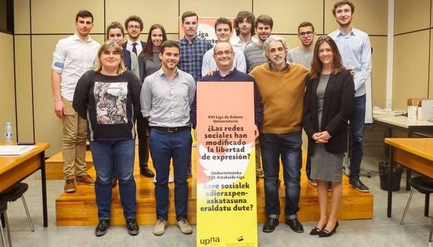 La UPNA celebrará en marzo la XVII Liga de Debate Universitario