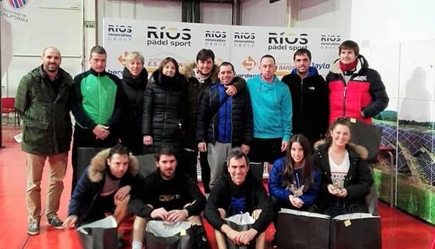 Los participantes en la primera prueba del circuito ribero de 2018