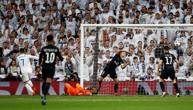 Remontada del Real Madrid para acariciar la siguiente ronda
