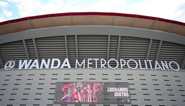 Imagen del estadio del Atlético de Madrid