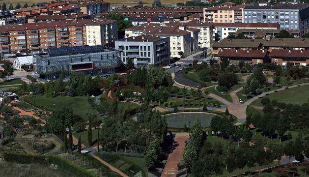 Noáin, municipio más poblado de la Mancomunidad de Servicios Sociales.