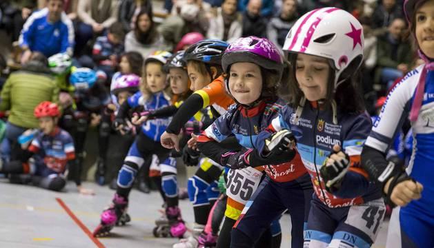 Más de 300 patinadores se dan cita en Ansoáin
