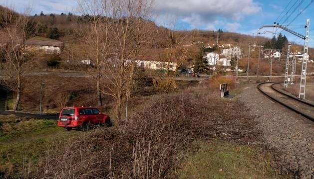 Labores de búsqueda del desaparecido en Alsasua