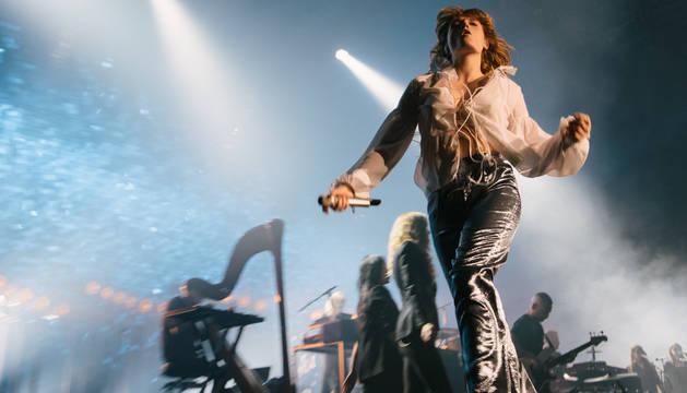 Una actuación del grupo Florence + The Machine