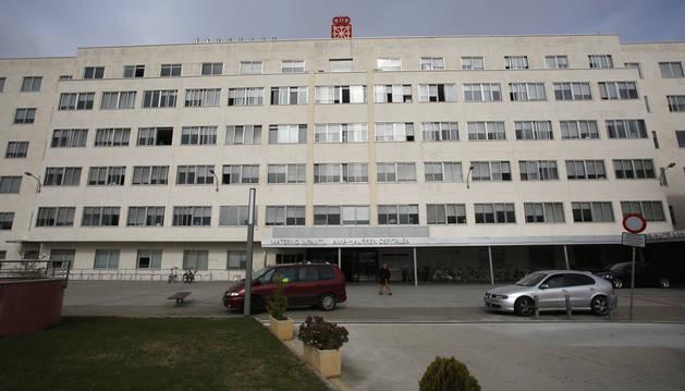 Exterior del Hospital Virgen del Camino
