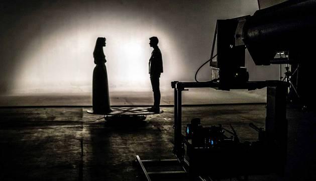 Amaia y Alfred graban en Madrid el videoclip de 'Tu canción', el tema de Eurovisión