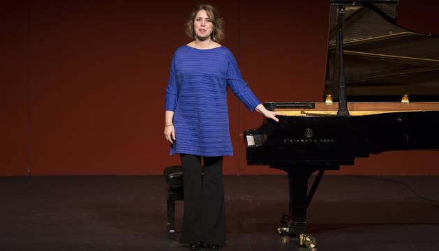 Gabriela Montero, en el concierto del domingo.