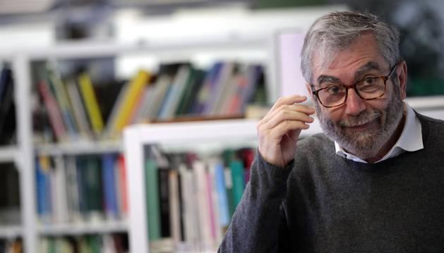 El escritor Antonio Muñoz Molina presenta este martes su nueva novela.