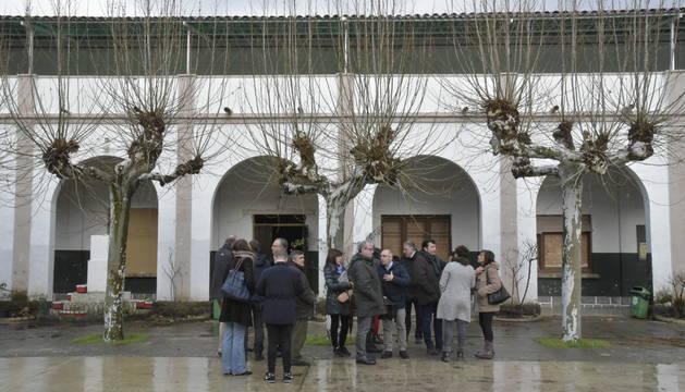 La comisión de Urbanismo, este miércoles, en la visita