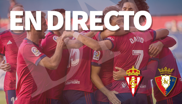 En directo, Sporting-Osasuna