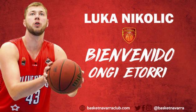 El serbio Luka Nikolic