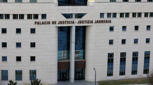 Imagen del Palacio de Justicia de Navarra.