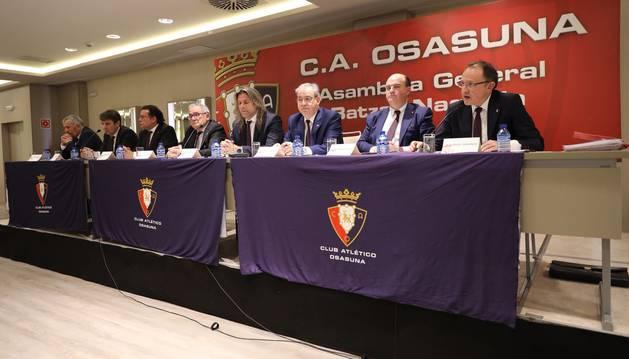 foto de Asamblea de socios de Osasuna.