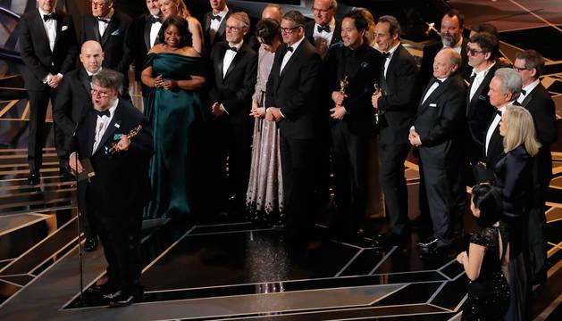 'La forma del agua' reina en los Óscar con cuatro galardones