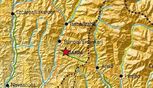 Un  terremoto de 2,7 grados se registra en Navarra