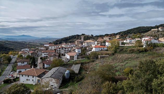 foto de Vista panorámica del municipio de Salinas de Oro.