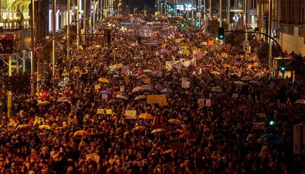 Manifestaciones del Día de la Mujer por toda España