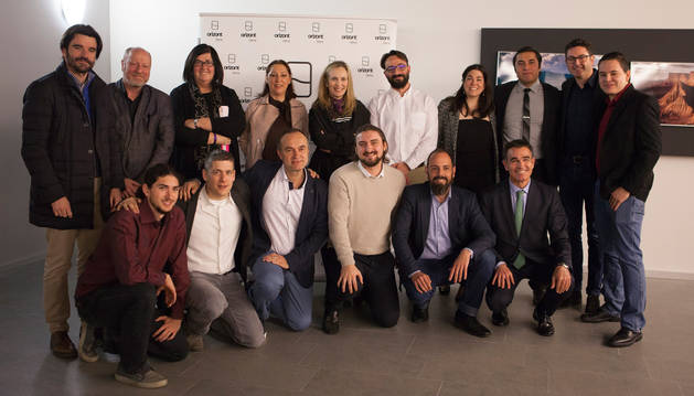 Foto de familia del 'Demo Day' en Tudela.