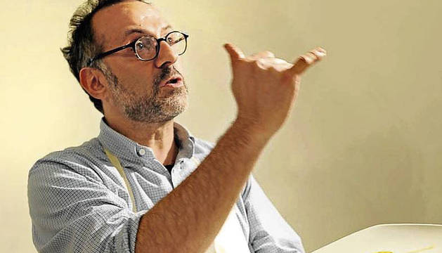 El chef italiano Massimo Bottura será el anfitrión del jurado del III Basque Culinary World Prize.