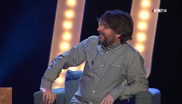 Jordi Évole en el programa 'No te metas en política'