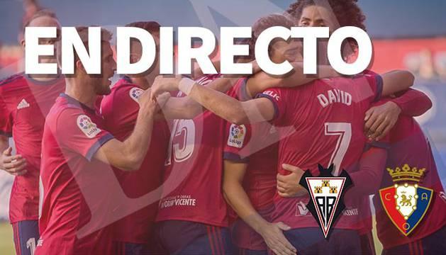 El Albacete-Osasuna, en directo