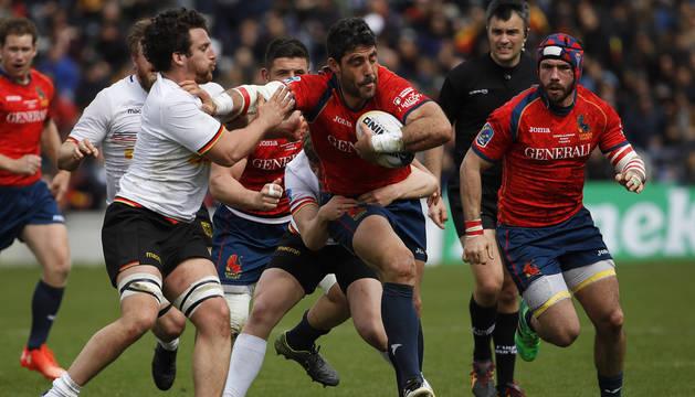 España se coloca a un triunfo de clasificarse para el Mundial de Rugby