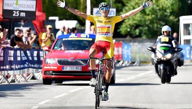 2015. TOUR DEL PORVENIR. Soler corrió y ganó el Tour del Porvenir de 2015 con la selección española.