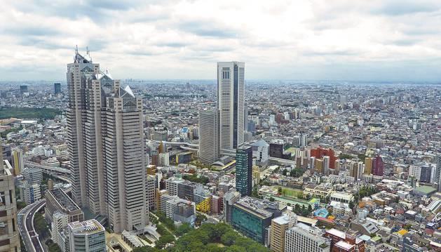 Imagen de la ciudad de Tokio, en Japón
