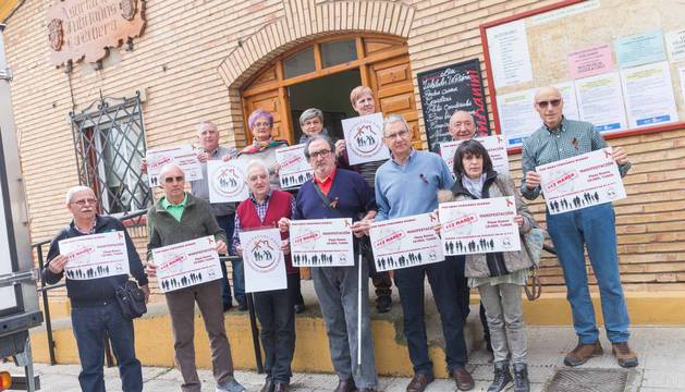 Nace una coordinadora en la Ribera para defender el sistema de pensiones