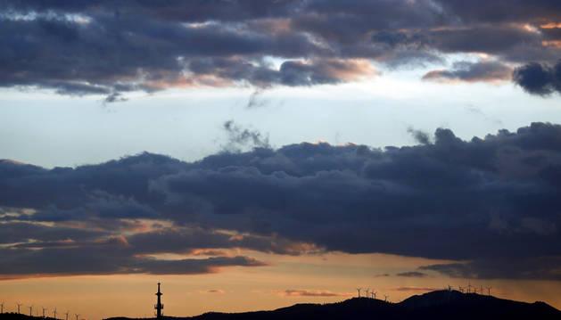 El viento y la lluvia marcará la jornada del miércoles en Navarra