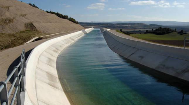 Adjudicada por 1,1 millones la redacción de la segunda fase del Canal de Navarra