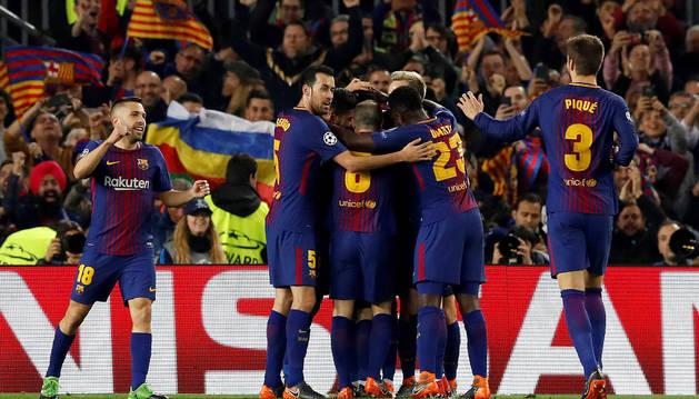 Messi sobrevuela sobre el Chelsea para llevar al Barcelona a cuartos