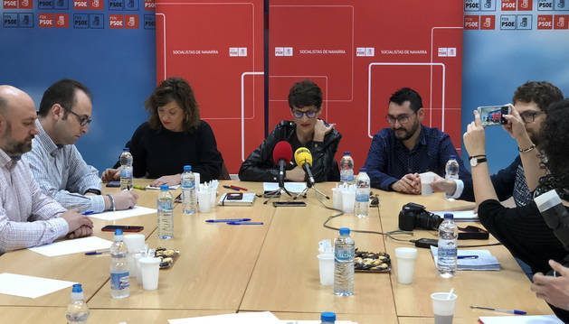 Desayuno informativo con medios de comunicación presidido por María Chivite